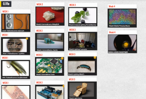 A typical collection displayed in Padlet.